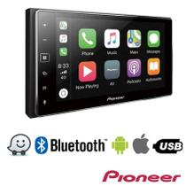 "DVD Player Pioneer SPH-DA138TV, 2 Din, Tela Capacitiva 6,2"", WVGA, TV Digital, Bluetooth, USB"