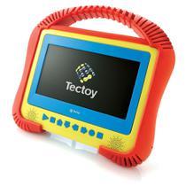 """DVD player portátil Com tela LCD 7"""" USB decodificador dolby digital e leitura de MP3 Kids Tectoy -"""