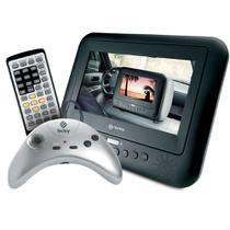 DVD Player Portátil com Tela LED 7 Pol, Entrada USB e Joystick - Tec Toy - Tectoy