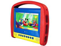DVD Player Portátil LCD 7 Pol com DVD Disney - Tectoy Kids DVT K3000