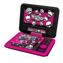 DVD Player Portátil - Monster High - Tectoy -
