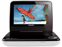 "DVD Player Portátil Philips PD7030X Tela 7"" LCD - c/ Entrada USB"