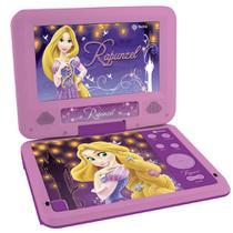 DVD Player Portátil - Rapunzel - Tectoy -