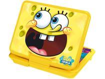 "DVD Player Portátil Tectoy Bob Esponja Tela 7"" - Conexão USB MP3 Ripping"