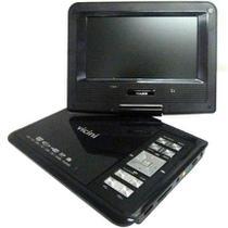Dvd Player Portátil Tela 7 Com Game Vc-6500 Vicini -
