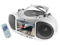 DVD Player Portátil Tela 7 polegadas Recepção TV - Lenoxx DT 520
