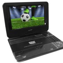 DVD Player Portátil Tela 9 com TV, USB MD-HD9393ISDBT - Genérico