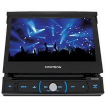 DVD Player Pósitron SP6330BT 7 Pol Retrátil -