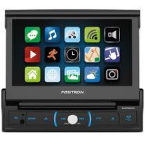 "DVD Player Positron SP6730DTV 1 Din 7"" Bluetooth Retrátil TV Android USB MP3 RCA -"