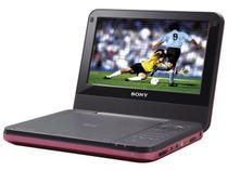 DVD Portátil LCD 7 polegadas Sony DV-PFX720 - Conexão USB / entrada cartão