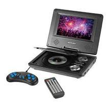 DVD Portatil Multilaser  AU 710 7 Preto -