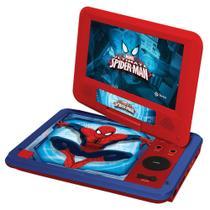 DVD Portátil - Spider-Man - Tectoy -