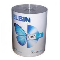 DVD-R 100 Mídias Printable Elgin 4.7Gb 16x -