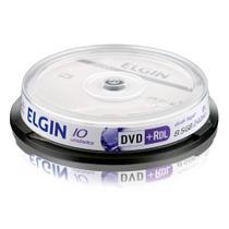 DVD+R DL 8.5GB 8x - Dual Layer - com 10 unidades - Elgin 82083 -