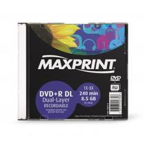 DVD+R DL 8.5GB 8x - Dual Layer - Unidade - Maxprint 502314 -