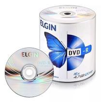 DVD-R Elgin 4.7GB com Logo - 100 und -