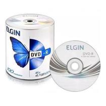Dvd-r Elgin Tubo Com 100 Unidades 16x 4.7gb 120 Minutos -