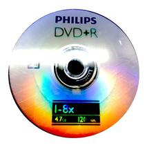 DVD+R Philips 8X 4.7GB C/Logo - 100 Unidades (Shrink Lacrado) - Shopvirtua3000 original