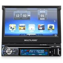 Dvd Retratil Automotivo 7 Pol Gps Tv Digital Extreme + Bluetooth Multilaser