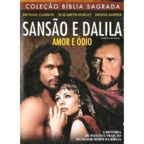 DVD Sansão e Dalila - Amor e Odio - Nbo