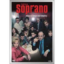 DVD Soprano Quarta Temporada Completa - Warner