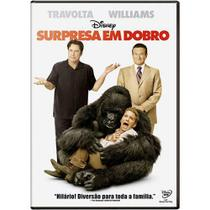 DVD Surpresa em Dobro Jonh Travolta Robin Williams - Rimo