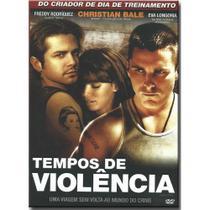 DVD Tempos de Violência - Christian Bale - NBO