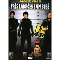 DVD - Três Ladrões E Um Bebê - Edição Especial - Califórnia Filmes