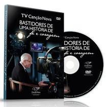 Dvd tv canção nova  bastidores de uma história de fé e coragem - Armazem