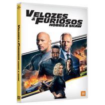 DVD - Velozes e Furiosos: Hobbs  Shaw - Universal studios