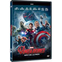 DVD - Vingadores: Era de Ultron - Disney