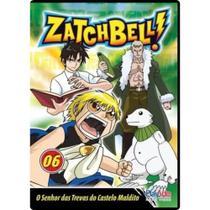 DVD Zatch Bell - Vol 6 - PLAYARTE -