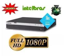 Dvr 16 Canais Full Hd 1080p Intelbras 3016 Mhdx +hd 4tb - Intelbrás