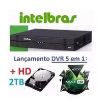 Dvr 16 Canais Intelbras Mhdx 1116 Hdcvi Tvi Ahd Multi+HD 2tb -