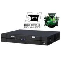 DVR 8 Canais Intelbras HD 720p + 2 IP H.265+ Até 12TB 5 em 1 Modo NVR Ipv6 Onvif S - MHDX 1108 -