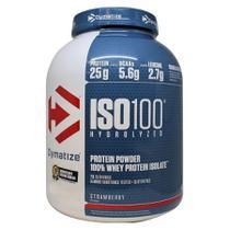 7f1ec3b09 Dymatize ISO100 Hidrolisado 100 de Isolado de Proteína (2.3 kg) Morango