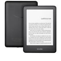 """E-reader Amazon Kindle 10ª Geração com 6"""", 8GB com Iluminação, Preto -"""