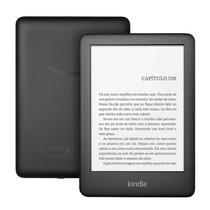 """E-reader Amazon Kindle 10ª Geração Preto Tela de 6"""" Wi-Fi 8GB de Memória Iluminação Embutida -"""