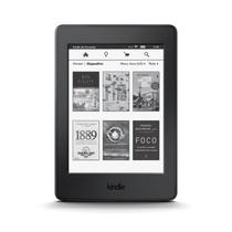E-Reader Amazon Kindle Paperwhite Preto com tela de 6