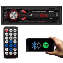 E-Tech Aparelho De Som Rádio Connection Light Bluetooth Spotify Usb Sd Fm -