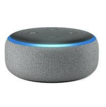 ECHO DOT 3ª GER.COM ALEXA- SMART SPEAKER BLUETOOTH/WI-FI CINZA  AMAZON