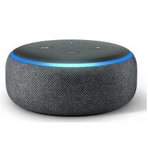 ECHO DOT 3ª GER.COM ALEXA- SMART SPEAKER BLUETOOTH/WI-FI PRETA  AMAZON