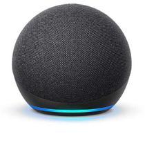 Echo Dot (4ª geração) Smart Speaker Amazon com Alexa Preta -