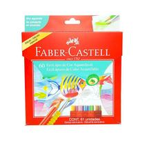 EcoLápis de Cor 60 Cores Aquarelável Faber-Castell 120260 -