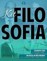 Edição Antiga - Kit - Filosofia - Sócrates Café + Em Busca De Nós - Cdg
