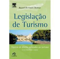 Edição antiga - Legislação de Turismo - 3ª Edição - Campus