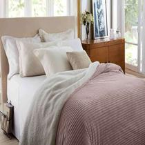 Edredom Casal Boreal Home Design Corttex 1,80x2,20m ROSA ANTIGO -