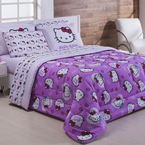 Edredom Casal Hello Kitty Poa - Pernambucanas