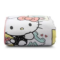Edredom Dupla Face Matelassê Hello Kitty ARTEX - Queen - Branco - Artex infantil
