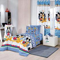 Edredom Infantil Mickey Happy Santista -